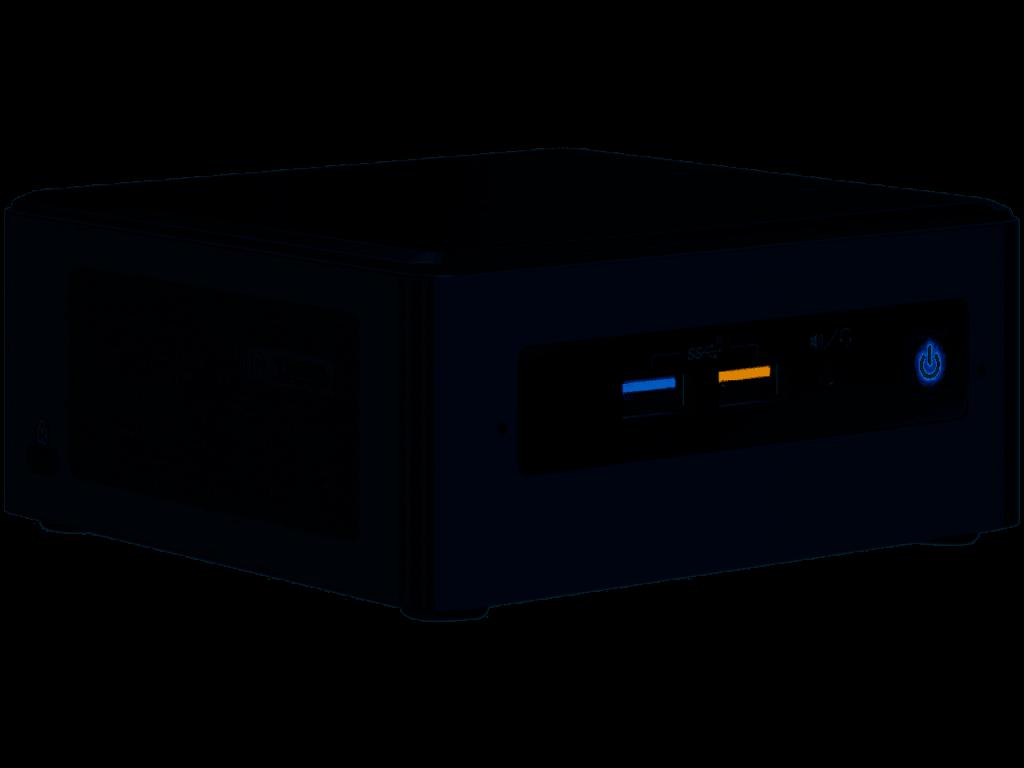 Using the NUC8i7BEH (Bean Canyon Nuc) as a plex server